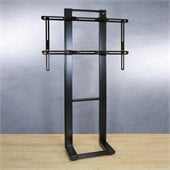 Bell'o Optional Metal Flat Panel LCD/Plasma Floor Stand Mount in Black