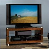 Bello Espresso Flat Panel Wood Audio Video System