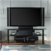 Bello Versatile 3 Shelf Glass TV Stand