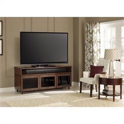 Bello Wood Home Entertainment Cabinet in Cocoa Finish