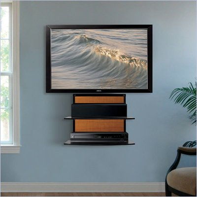 Bello Two-Shelf Multiple Finish Component Wall Mount System