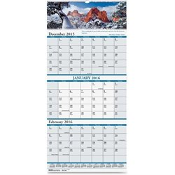 House of Doolittle Earthscapes Three Month Wall Calendar