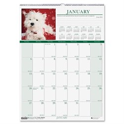House of Doolittle Earthscapes Puppies Wall Calendar