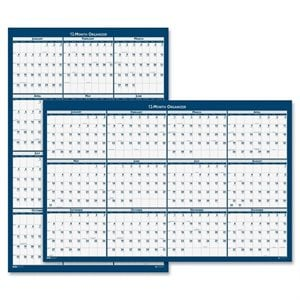 House of Doolittle 3961 Reversible Wall Planner