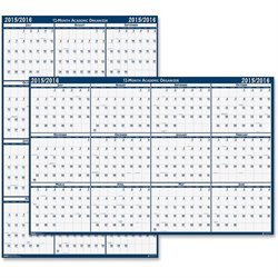 House of Doolittle 3965 Academic Wall Planner