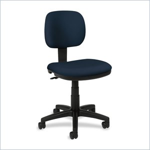 Basyx VL610 Pneumatic Armless Task Chair