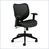 Basyx BSXVL552MST1 Mesh Mid Back Management Chair