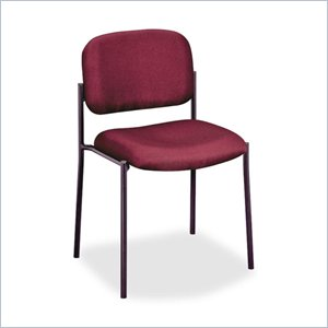 Basyx Armless Leg Base Guest Chair