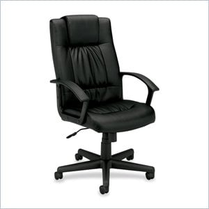 Basyx VL141 High Back Loop Arm Executive Chair