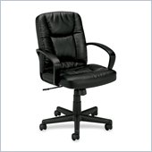 Basyx VL171 Mid Back Loop Arm Management Chair