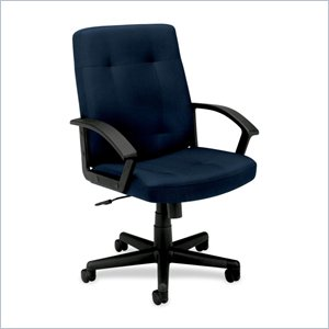 Basyx VL602 Mid Back Loop Arm Management Chair