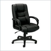 Basyx VL131 High Back Loop Arm Executive Chair