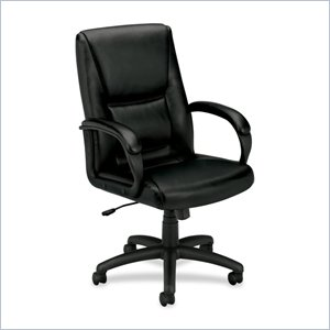 Basyx VL161 Mid Back Loop Arm Management Chair