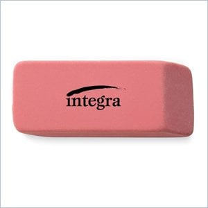 Integra Large Beveled End Eraser
