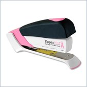 PaperPro Pink Ribbon Desktop Stapler - Breast Cancer Awareness