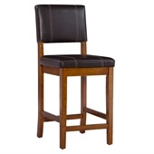 Linon Milano 24 Inch Counter Stool