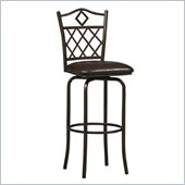 Linon Diamonds 24 High Counter Stool