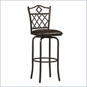 Linon Diamonds 30 High Bar Stool