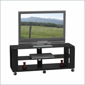 Linon Contempo Cliff Media Center in Black
