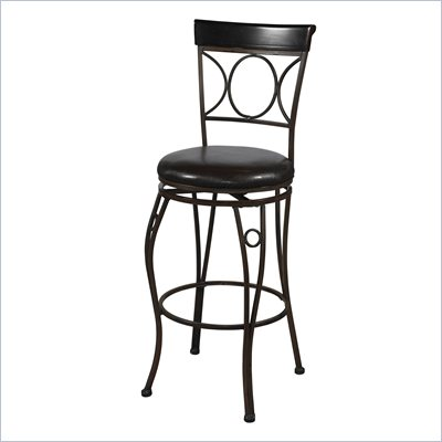 Linon Circles 30 Inch Bar Stool