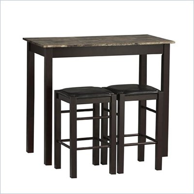 Linon Three Piece Tavern Dining Set