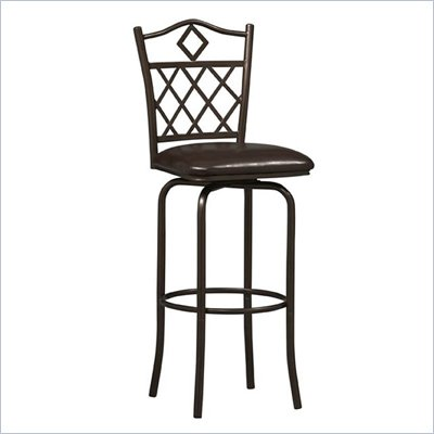Linon Diamonds 24&quot; High Counter Stool