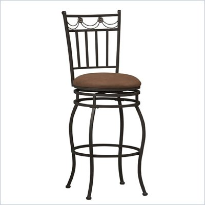 "Linon Swag 24"" High Counter Stool"