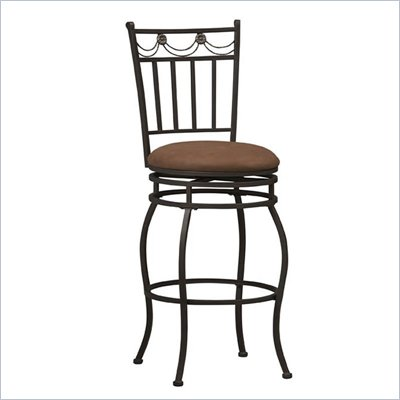 Linon Swag 30&quot; High Bar Stool