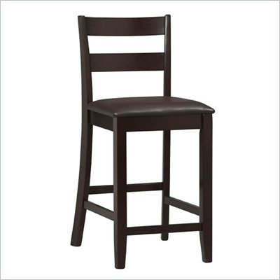 "Linon Triena Collection 24"" High Soho Counter Stool"