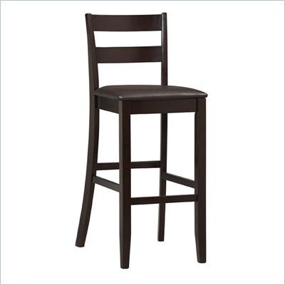 Linon Triena Collection 30&quot; High Soho Bar Stool