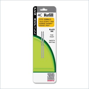 Zebra Pen 4C-Refill