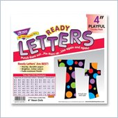 Trend Ready Letters with Neon Dots