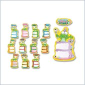 Carson-Dellosa Birthday Frog Bulletin Board Decoration Set