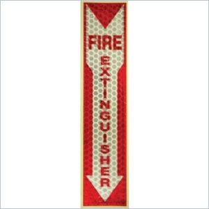 Miller's Creek Luminous Fire Extinguisher Sign