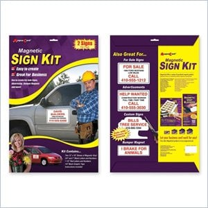 MagnaCard MS2 Magnetic Automobile Sign Kit