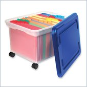 Advantus Rolling File Tote