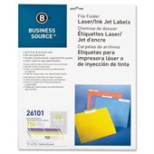 Business Source File Folder Label