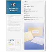 Business Source Mailing Inkjet Label