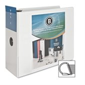 Business Source Slanted Ring Presentation Binder