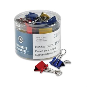 Business Source Binder Clip