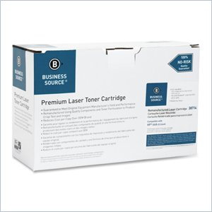 Business Source Remanufactured HP 64A Toner Cartridge