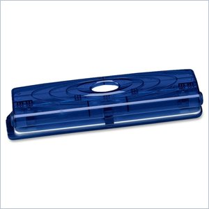 Business Source Translucent Manual Hole Punch