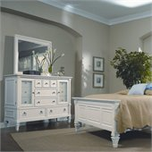 Magnussen Ashby 12 Drawer Dresser with Landscape Mirror