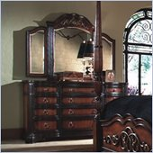 Magnussen Stafford 12 Drawer Triple Dresser and Mirror Set