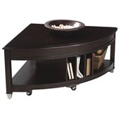 Magnussen Darien Pie Shaped Lift-Top Cocktail Table and End Table Set
