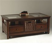Magnussen Tanner Wood Storage Coffee Table and End Table Set