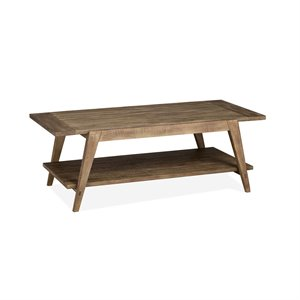Magnussen T4597 Bluff Heights Shelf Cocktail Table