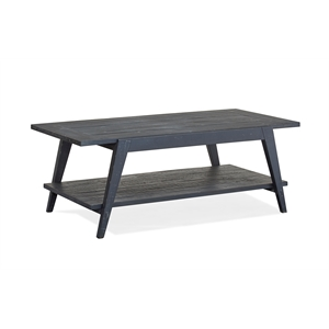 Magnussen T4598 Lake Haven Shelf Cocktail Table