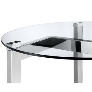 Magnussen T4616 Aries Oval Cocktail Table