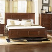 Magnussen Harrison Panel Bed in Cherry